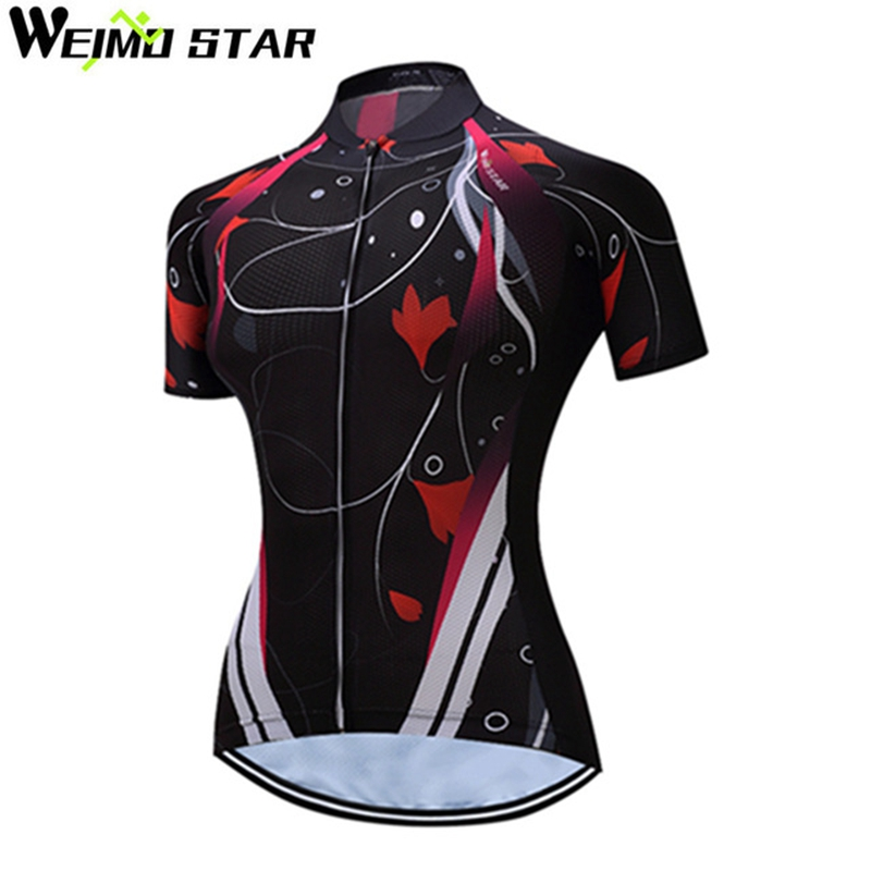 2017 Team Pro Cycling Jersey Women Ropa Ciclismo T Shirt