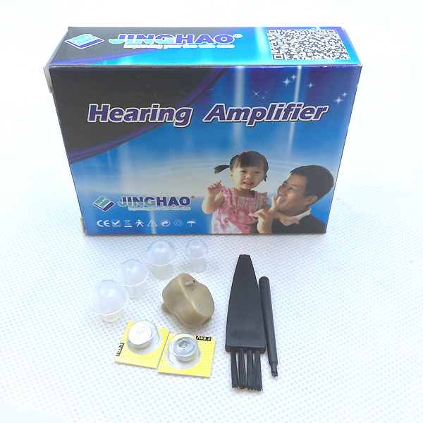 Купить с кэшбэком Advanced Mini Invisible Hearing Aid Set of Amplifier +50dB volume adjustable