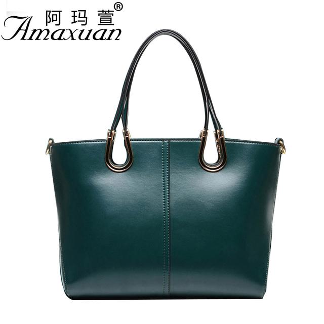 2017 hot sale women leather handbag shoulder bag  European and American tide fashion simple shoulder bag BBH1373