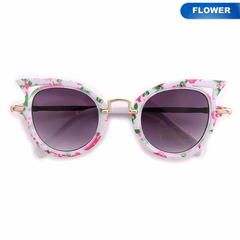 dca8bdc71cc ... Baby Sun glasses 7 Colors Girls Brand Children Glasses Cute Eyewear  Shades Goggles Cat Eye New ...