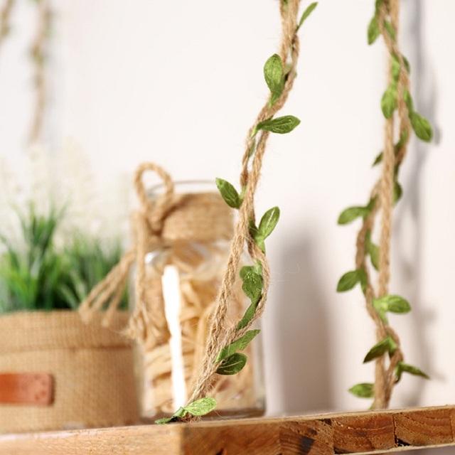 Decorative Leaf Jute  Rope