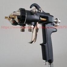 Pulvérisateur pneumatique à double tête pour peinture nano chromé, à double buse, offre spéciale