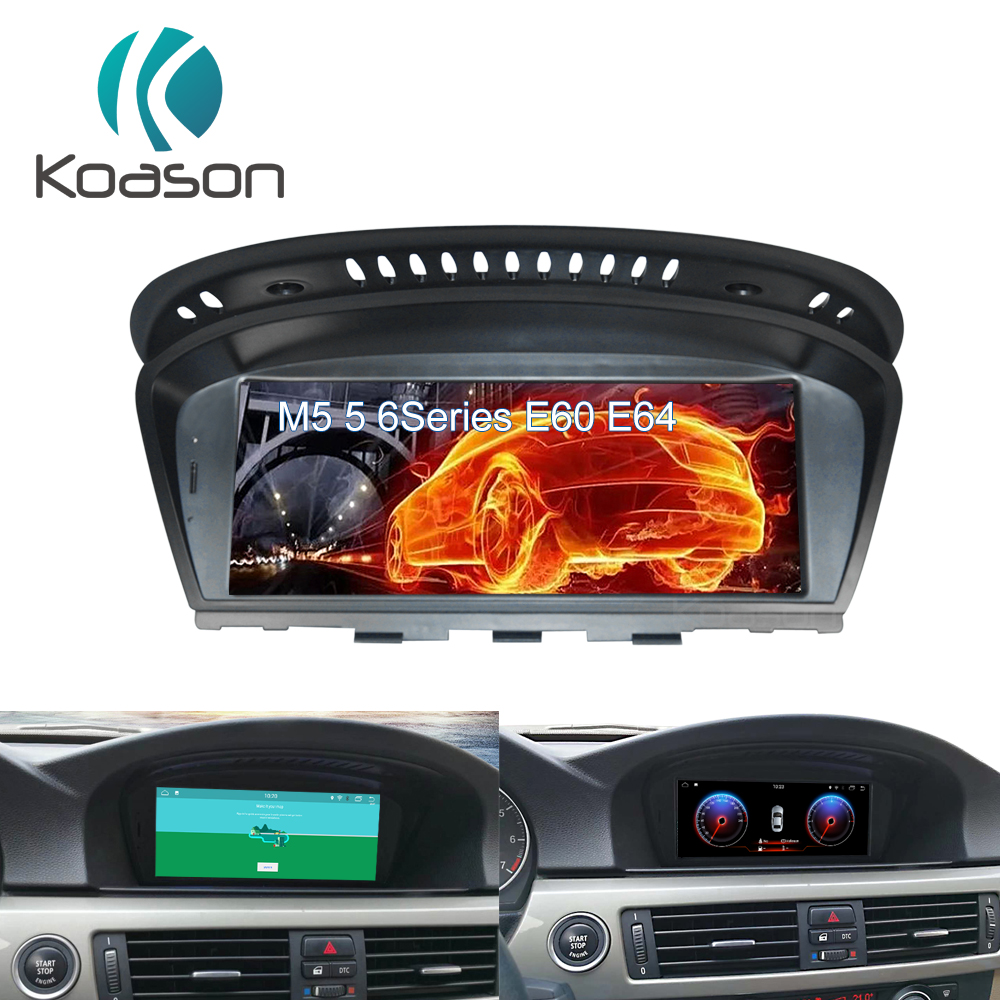 Qualcomm 4G+64G <font><b>Android</b></font> 10.0 car radio multimedia player GPS for <font><b>BMW</b></font> 5 Series E60 E61 E63 E64 <font><b>E90</b></font> E91 E92 CarPlay <font><b>Android</b></font> Auto image