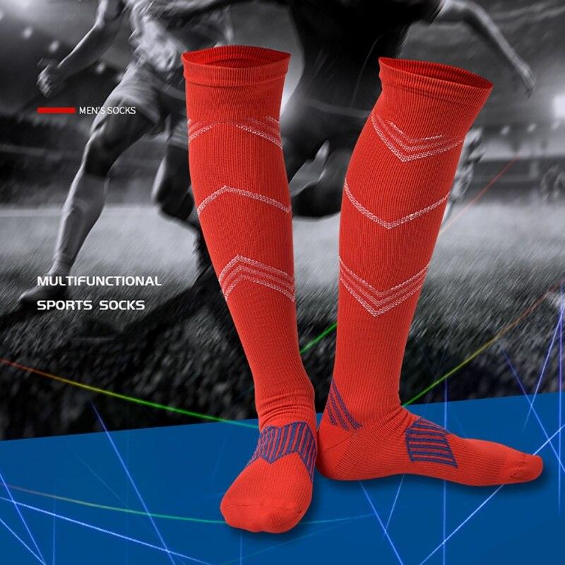 d84b77133 1pair Men Women Leg Support Stretch Compression Socks Below Knee Socks gray  red blue yellow black sock on Aliexpress.com