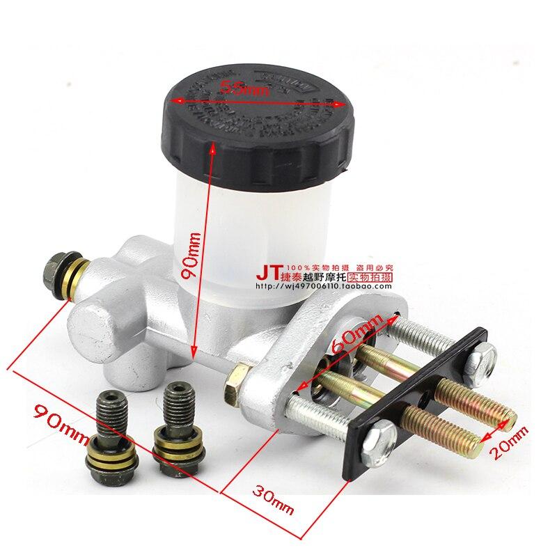 US $33 25 5% OFF|Aliexpress com : Buy Go Kart Parts Foot Brake Drag 31  Supporting Four Brake Pump Main Pump Brake Foot Brake Pump System from  Reliable