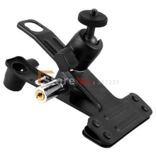NEW Multi-function Clamp with Ball Socket Head for Photo Studio Camera With Tracking number