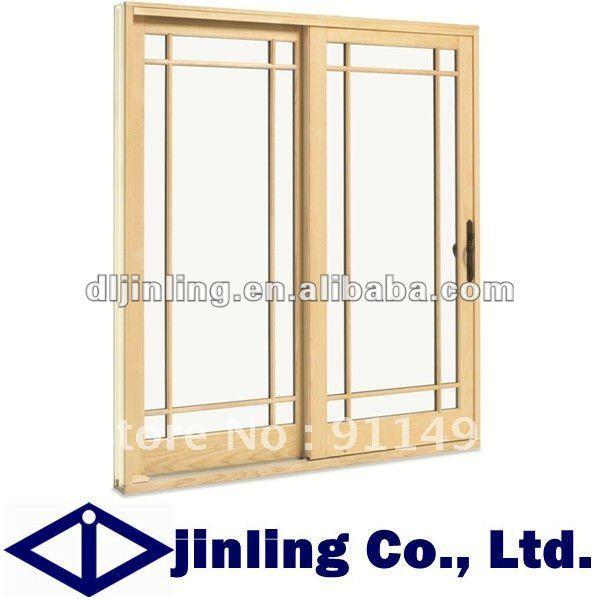 Solid Teak Wood Doors Frame Sliding Glass Interior Manufacturer