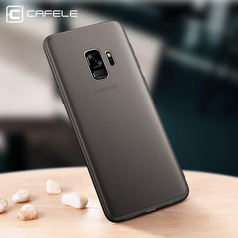 Cafele мягкий чехол для Samsung S9/S9 Plus Чехлы Тонкий Вернуться защитить кожу ультра тонкий телефон чехол для samsung Galaxy S9 плюс