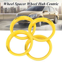 4x Roda Spigot Anel 66.6 milímetros-57.1 milímetros Espaçadores Hub Centric Para VW/Audi/Skoda/Seat