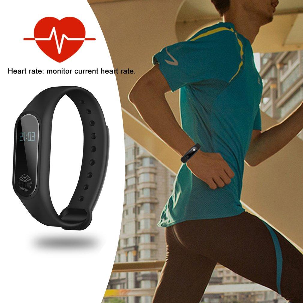 LED Display Smart Wristband Fitness Tracker Smart Bracelet Pedometer Bluetooth Smartband Waterproof Sleep Monitor стоимость