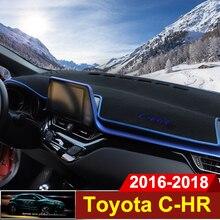 Приборной панели автомобиля крышка коврики Избегайте light pad инструмента платформы стол ковры для Toyota C-HR C HR CHR 2016 2017 2018 RHD LHD