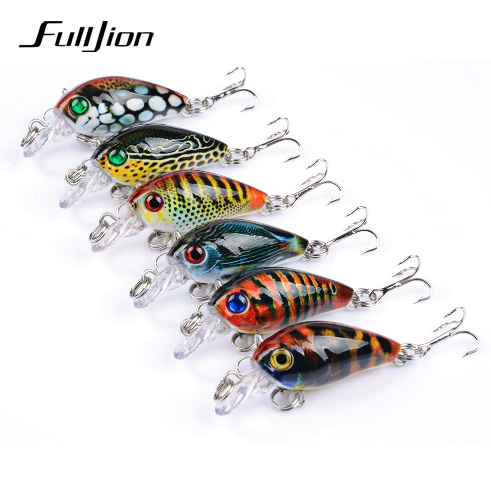 Fulljion 1pcs Crank Fishing Lures Crankbaits Wobblers Hard Baits for Carp Fishing Topwater Painting Series Isca Pesca fishing lures hard floating minnow artificial wobblers crankbait winter fishing tackle 3d eyes plastic pesca isca baits 14cm 23g