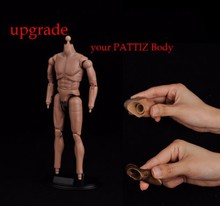 купить Body Accessory 1/6 Scale Neck Foot Body Conector Fit for 12 Figure Model Body Toy Action Figure дешево