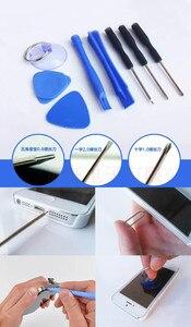 Image 2 - 1000 set (8000 pz) 8 in 1 riparazione pry apertura tools kit Con 5 punti stelle pentalobe cacciavite torx per apple iphone 4 4 s