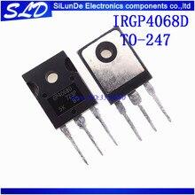 IRGP4068D IRGP4068 GP4068D IGBT 600V 96A 330W TO247 neue und original auf lager 5 teile/los Freies Verschiffen