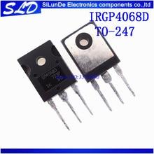 IRGP4068D IRGP4068 GP4068D IGBT 600V 96A 330W TO247 nowy i oryginalny W magazynie 5 sztuk/partia darmowa wysyłka