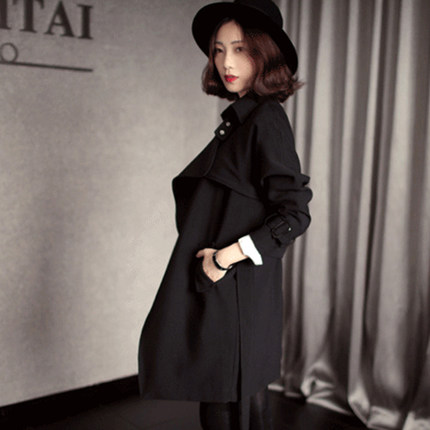 3 Automne Était Printemps Et Coupe Taille 2 Tempérament Marée Section 1 vent Féminine Coréenne Mince 2018 Manteau Nouvelle Longue w7qx0xUXY