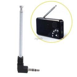 3,5 мм радио антенна приемника Нержавеющаясталь многоцелевой 3,5 мм Интерфейс fm-радио антенна 9,3 для сотового радио Телефон Z07