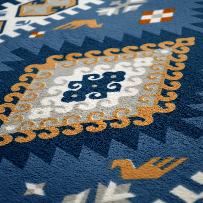 200*240 см 2016 Новый роскошный покрытый средиземноморским комнатным ковром, спальня коралловый бархатный диван-коврик, современные модные большие ковры.