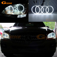 For Mercedes Benz M Class W164 ML320 ML350 ML500 ML63 AMG 2006 2007 Excellent Ultra bright CCFL Angel Eyes kit halo rings