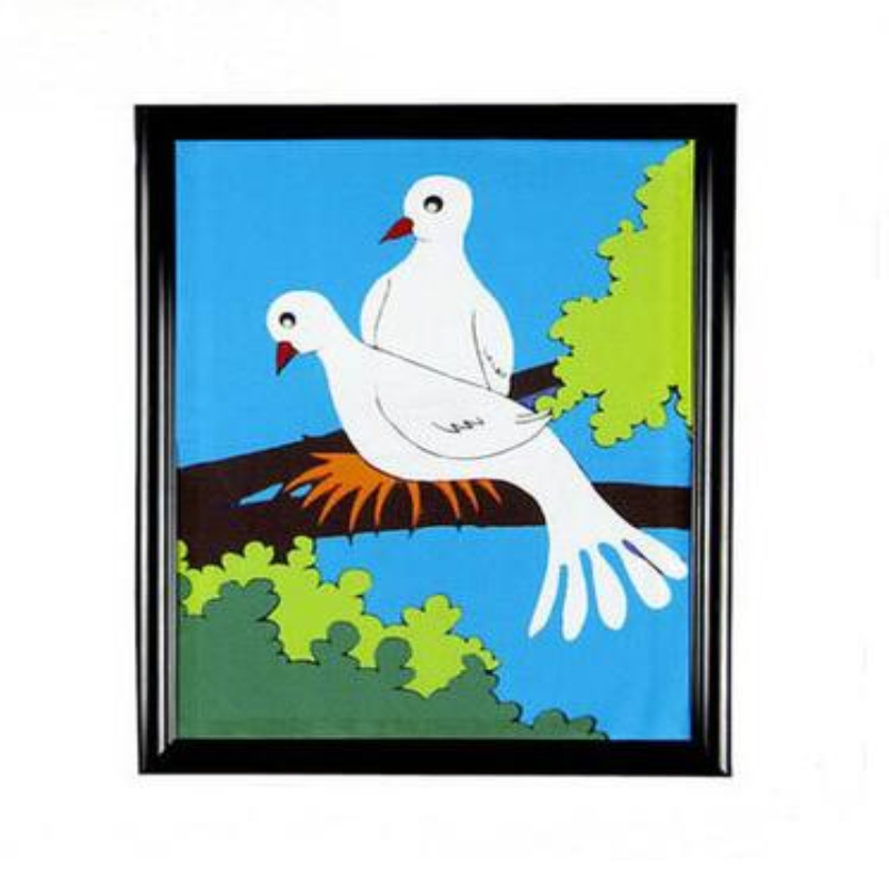 Dove Appearing From Frame/Dove Frame/magic Frame Magic Tricks Props