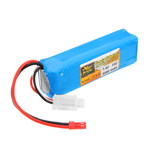 Image 3 - ZOP Power 7,4 V 3000mah 10C Lipo batería recargable para Frsky Taranis X9D Plus transmisor control remoto piezas de repuesto