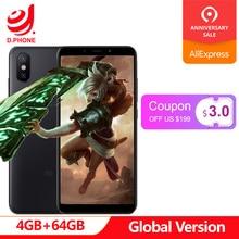 Küresel Sürüm Xiao mi mi A2 4 GB 64 GB Android TEK Snapdragon 660 Octa çekirdek 20.0MP AI ÇIFT KAMERA 5.99