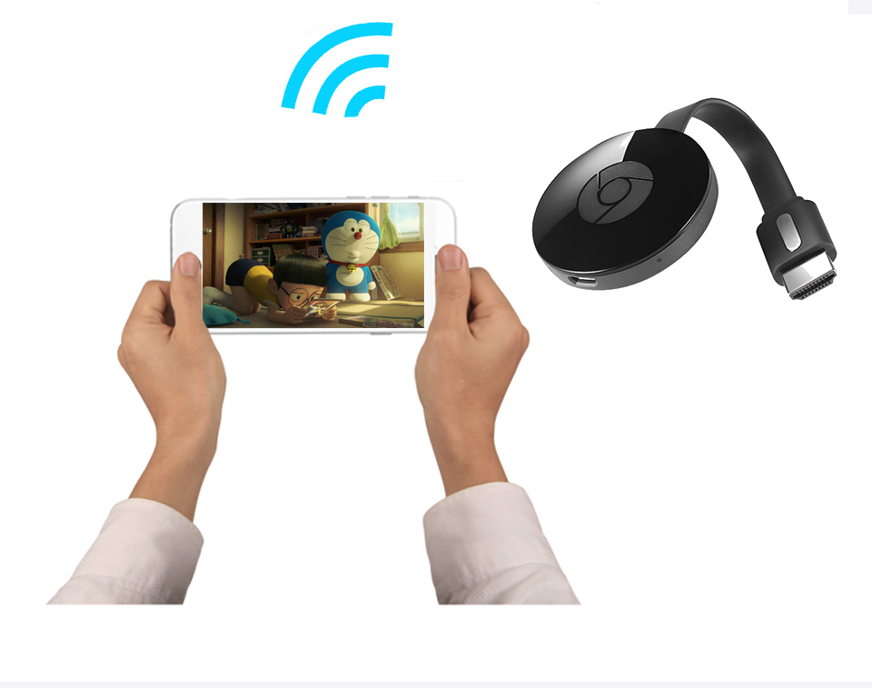 WiFi Display Dongle Receiver 1080P HDMI Media Video Streamer TV Stick DLNA Airplay Miracast for netflix youtube Chrome cast