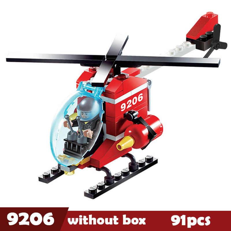 Kota Konstruksi Roller Forklift Truk Traktor Sweeper Blok Bangunan Kompatibel Legoes Set Playmobil Batu Bata Mainan untuk Anak