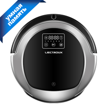 LIECTROUX Robot Vacuum Cleaner B6009,Map Navigation,Smart  Memory,3000pa Suction,Virtual Blocker,UV Lamp,Big Water Tank for b6009 water tank for liectroux robot vacuum cleaner b6009 1pc pack for b6009 water tank for liectroux robot vacuum c