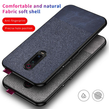 Luxury Cotton Cloth Case For Xiaomi Mi 9T Pro Mi9t 9 T Slim