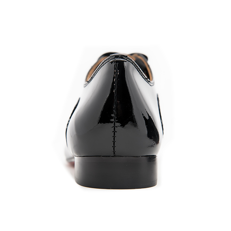 Promote┴Men Loafers Dress-Shoes Oxfords Wedding Black Men's Fashion New Patent And Jeder Party