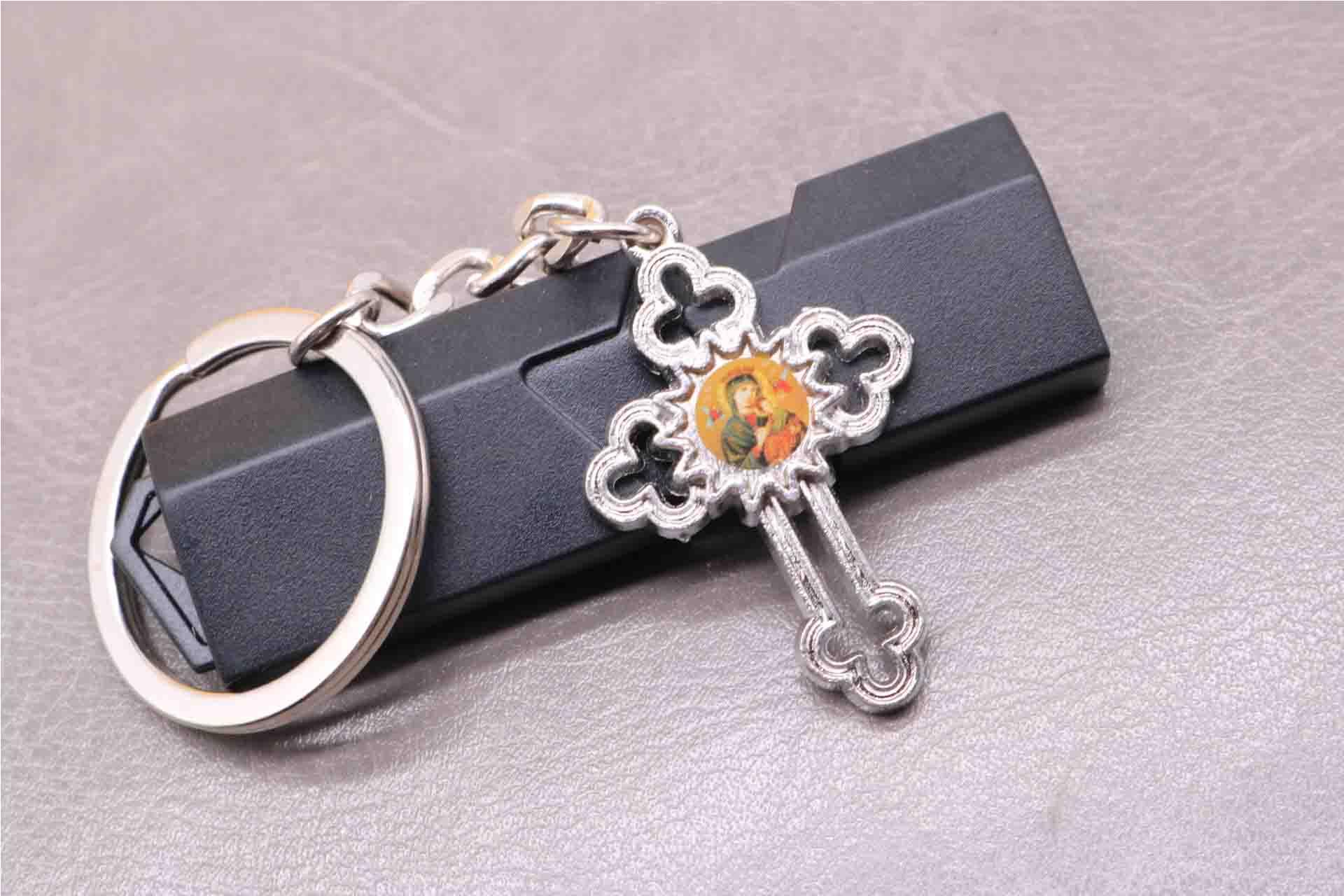 Christ Jesus cross keychain 8ec4a961bf
