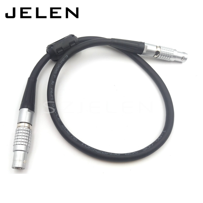 50CM  LCD/ EVF Cable Lemo cable For Red Epic ,Audio Video Power Cable, FGG.1B 16 pin plug to FGG.1B 16pin connectors plug lemo 0b 2 pin power adapter cable for teradek bond lemo fgg 0b 2 pin plug to fhg 0b 2 pin plug cable length 50cm