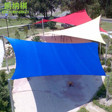6 x 6 M/pcs Customized PU Coated Polyester fabrics Waterproof  Shade Sails for Residential Garden Patio Sun Shade