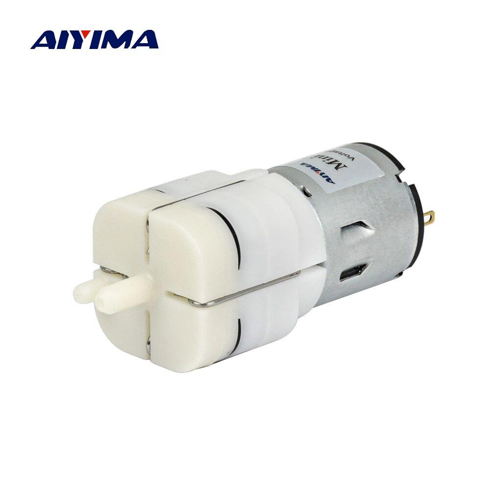 AIYIMA DC 12V Micro Air Pump Vacuum Pump Electric Pumps Mini Pumpping For Medical Treatment Instrument цены