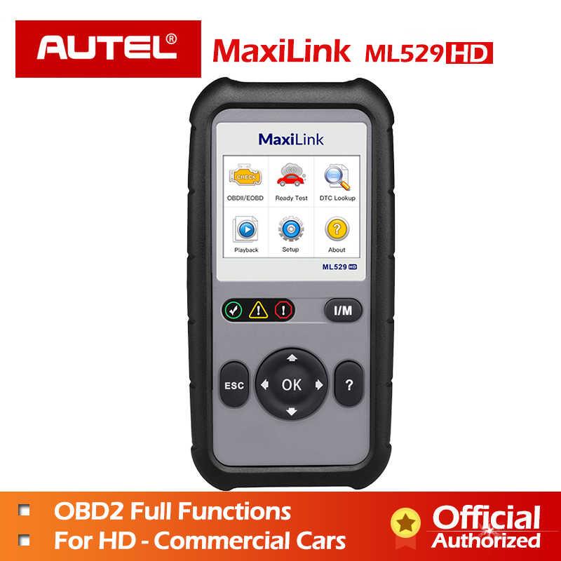 Autel ML529HD Diagnostic Tool Full OBD2 EOBD Car Scanner
