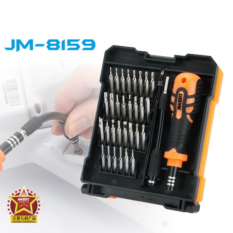 JAKEMY Precision Screwdriver Set Tweezers Professional Repair Tools Kit For Mobile Phone Computer Repair Tools Ferramenta