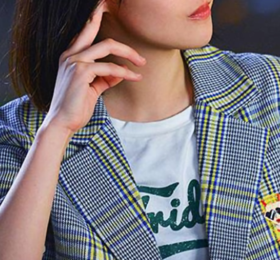 Youth Fight Star's Same Striped Suit Jacket 2019 Spring Women's Suit Thin Loose Small Suit Women Blazers And Jackets Suit Coat