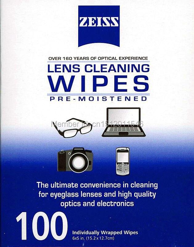מתקדם 100 נחשב ZEISS עין משקפיים מגבונים לניקוי טרום לחלח מחשב אופטי MN-63