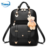 Hot Sale 2017 New Women Backpack Spring And Summer Students Backpack Lady Europe Style Bag High