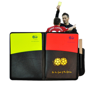 Soccer Referee Red Yellow Card