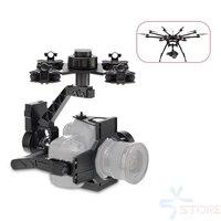 Аэрофотосъемки 3 оси БПЛА карданный Камера крепление для видео фильм DSLR Canon 5D3 Nikon D800 GH4 sony A7/NEX5 A5100 6000 A7S