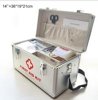 TXLI1 Aluminum Alloy Medical Box Multi Layer Medical First Aid Kit Drug Storage And Portability