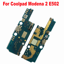 Original USB charging Plug Board MIC Flex Cable For Coolpad Modena 2 E502 Mobile