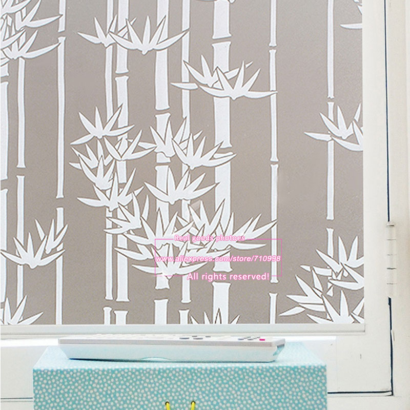 45cm200cm Long Self Adhesive Film Window Film Frosted Glass Sliding