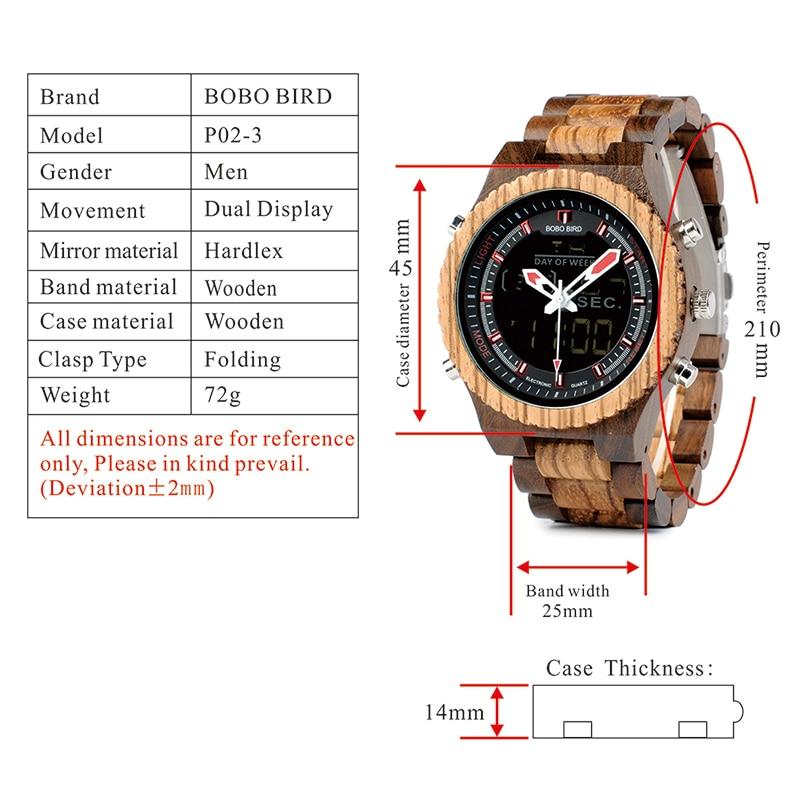 wooden wrist watches bobo bird fashion wristwatch (12)