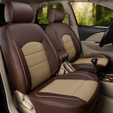 На свой вкус авто аксессуары кожи на заказ Новый автомобиль чехлы для Land Rover Discovery Спорт Evoque Freelander Range Rover