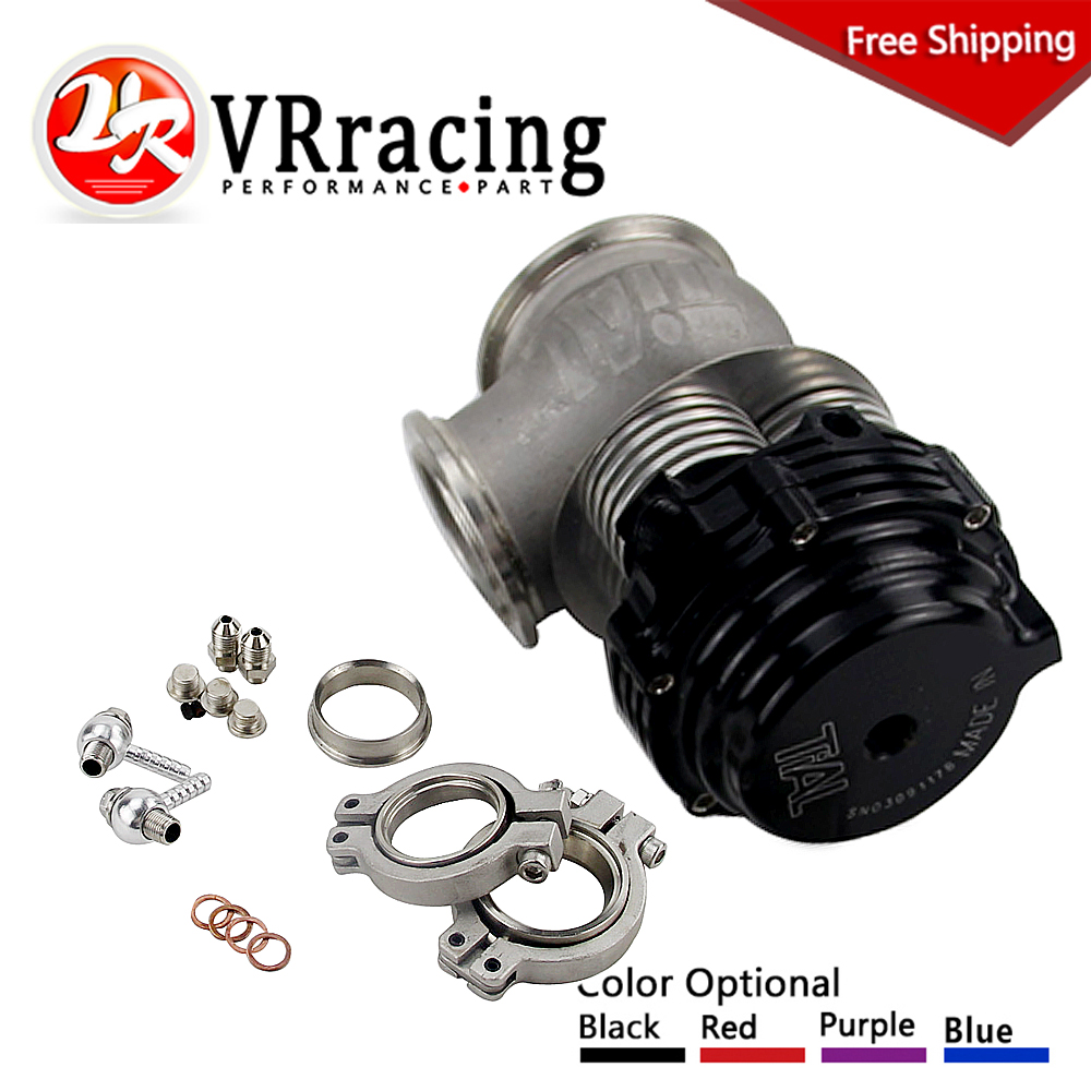 VR RACING- FREE SHIPPING V-banded External Wastegate, 38mm MVS-A, Includes V-band flanges and clamps 38MM WASTEGATE With TL logo 2016 new free shipping neo snk arcade mvs magic key 2016 version