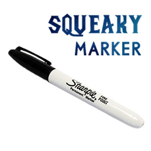 Squeaky Marker Magic Tricks Find the Signed Card Magia Pen Close Up Stage Illusion Gimmick Prop Funny Mentalism Classic Toys цена и фото